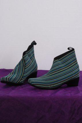 San Miguel schoen type groen gestreept