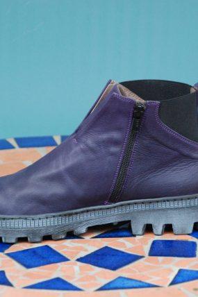 Lofina schoenen type: Pellame / paars