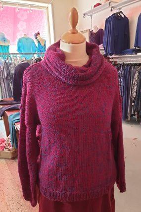 Himalaya Sweater Lala purple 239950240