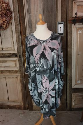BB style jurk Grote bloem