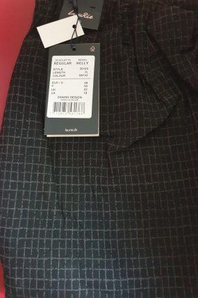 Laurie Regular Kelly broek (zwart/grijs) 99743