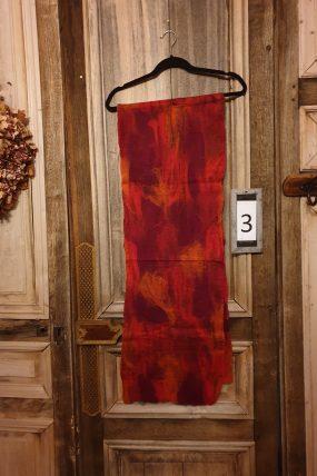 Mooi Vilt Gevilte shawl op zijde vele kleuren serie 1