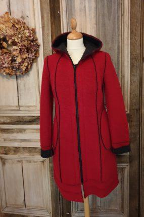 Bella natur jas aan 3 kanten draagbaar