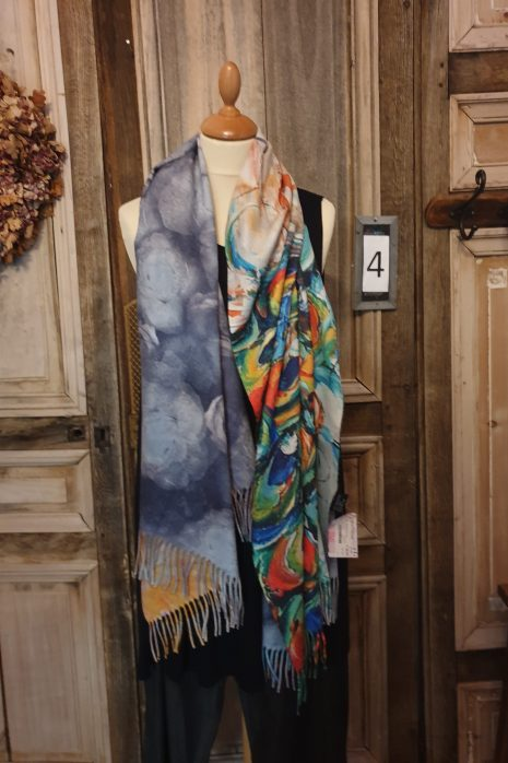 Bb style shawl  2 kanten