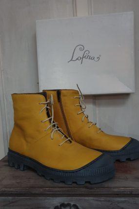 Lofina schoenen type: Pellame / geel
