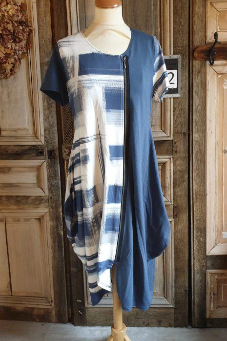 Denim Blue long cardigan 3274a