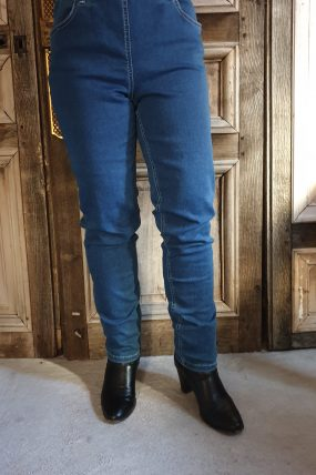 Lauri broek Gusti regular 24412  denim 43516