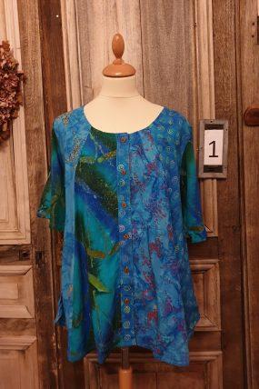 Normal Crazy blouse New Moza s/s (9 kleuren)