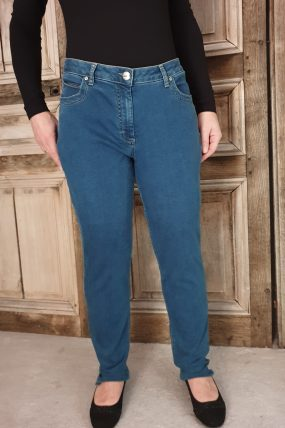 Lauri broek Gusti Rebecca regular 24412  kleur  43515 denim