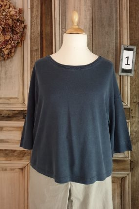 Oska shirt Jubal 912(blauw en oranje)