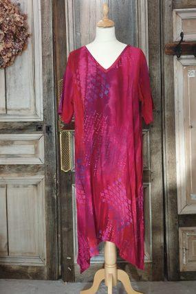 Dress  crincle batik viscose AC 6220T