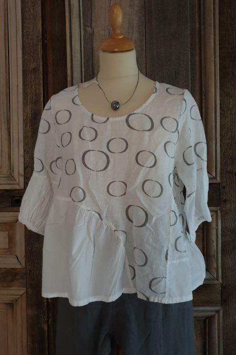 Blueberry blouse 9274-G