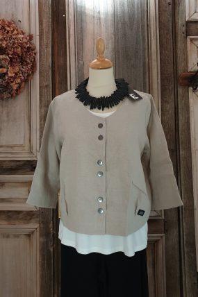 E-Aps  Jacket linen 11892-1