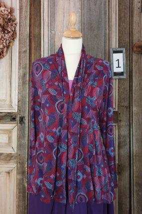 Himalaya jacket Nea Purple( 2 Kleuren)