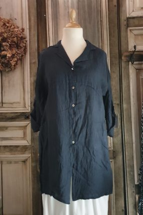 BB style jurk lino knoop