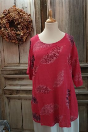 BBstyle shirt Cotone  bloem