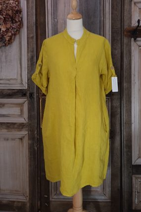 lino dress springplooi