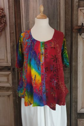 Normal Crazy blouse New Moza s/s