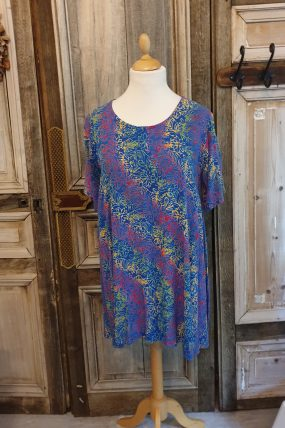 Normal crazy dress Aline batiks/s