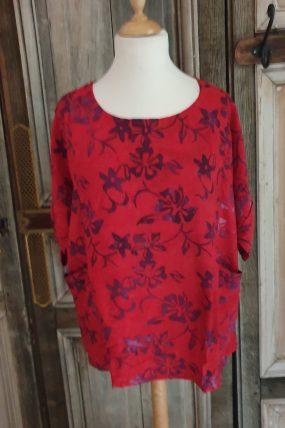 Normal crazy Fleur S/S Batik (3 kleuren)