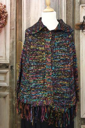 Angel Circle Poncho knit HC 3479