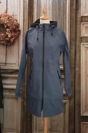 Ilse Jacobsen Raincoat Blue Grayness RAIN37.699