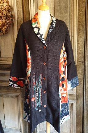 Jas orientique Da Vinci coat