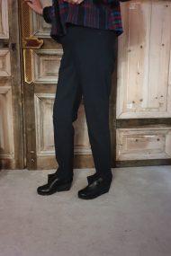 Laurie Regular Kelly broek (zwart/blauw) 99753
